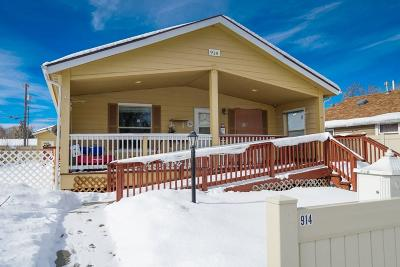 Billings Single Family Home For Sale: 914 S 28th Street