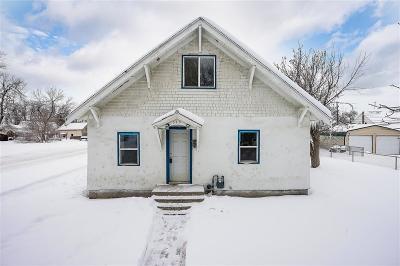 Single Family Home Contingency: 320 Yellowstone