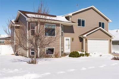 Yellowstone County Single Family Home Contingency: 1339 Sierra Granda Blvd