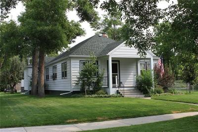 Columbus MT Single Family Home For Sale: $292,500