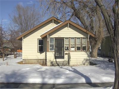 Billings Single Family Home For Sale: 615 N 24th Street