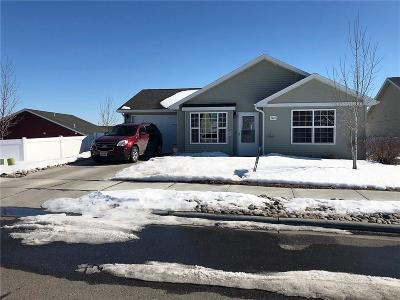 Billings Single Family Home Contingency: 1449 Shaw Lane