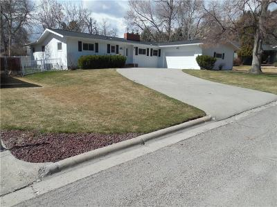 Billings Single Family Home For Sale: 2910 Glacier Drive