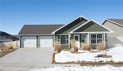 Yellowstone County Single Family Home For Sale: 3108 Amelia Circle