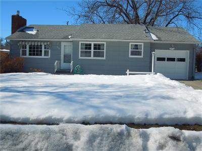 Billings MT Single Family Home For Sale: $199,500