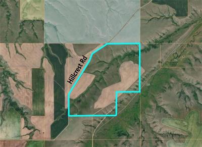Yellowstone County Farm & Ranch For Sale: 00 Hillcrest Road