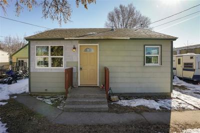 Billings MT Single Family Home For Sale: $135,000