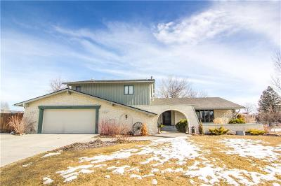 Billings Single Family Home For Sale: 3930 Heritage Drive