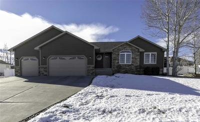 Yellowstone County Single Family Home Contingency: 1870 Wentworth Drive