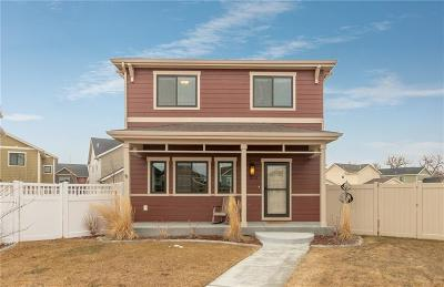 Yellowstone County Single Family Home For Sale: 1643 Hollyhock Street