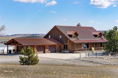 Huntley Single Family Home Contingency: 5510 Moon Ridge Trail