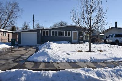 Yellowstone County Single Family Home For Sale: 1208 Eldorado Drive