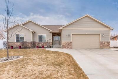 Yellowstone County Single Family Home Contingency: 56 Calendula Ct