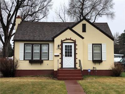 Billings Single Family Home Contingency: 224 Avenue B