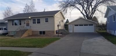 Billings Single Family Home For Sale: 1820 Miles Avenue