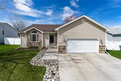Billings Single Family Home Contingency: 1284 Mirror Lake Ln