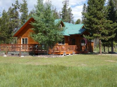 Single Family Home For Sale: 209 Overland Trail, Seeley Lake