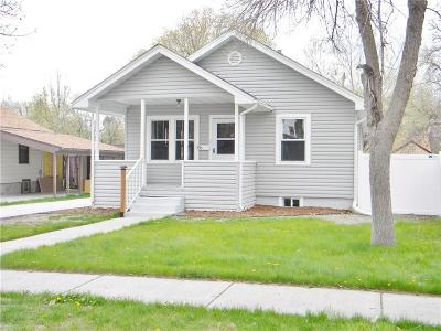 Yellowstone County Single Family Home Contingency: 230 Avenue D