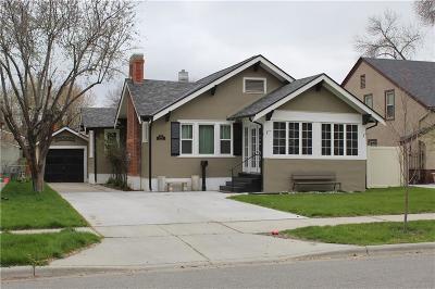Yellowstone County Single Family Home Contingency: 134 Avenue E