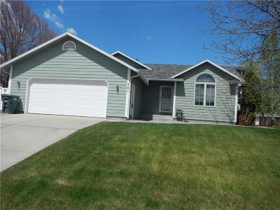 Yellowstone County Single Family Home Contingency: 361 Tabriz Dr