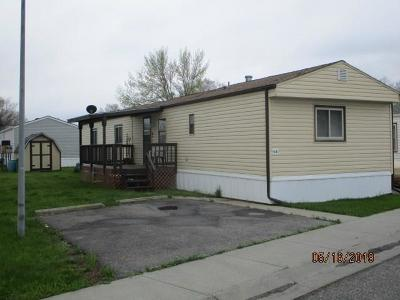 Billings Single Family Home For Sale: 922 Yellowstone River Road #E-8