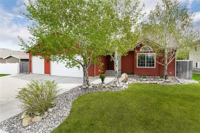 Billings Single Family Home For Sale: 1106 Cortez