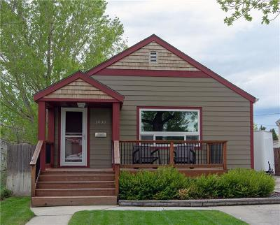 Billings Single Family Home For Sale: 1030 Custer Avenue