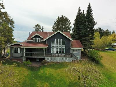 Single Family Home For Sale: 1100 Holt Dr, Bigfork