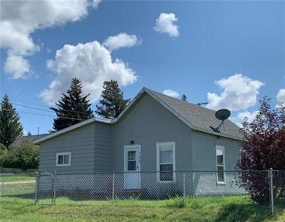 Single Family Home For Sale: 102 E Chilton