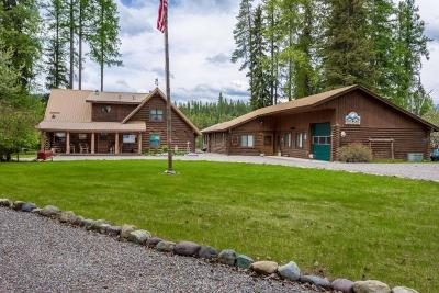 Single Family Home For Sale: 1097 Mt Highway 209, Bigfork