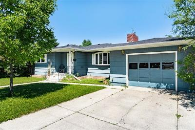 Billings Single Family Home Contingency: 1717 Lewis Avenue