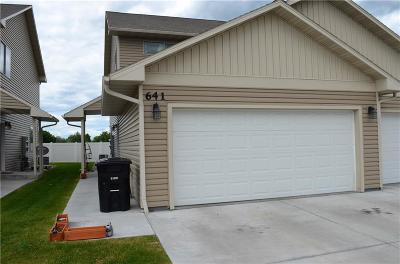 Billings Condo/Townhouse For Sale: 641 Presidents Place