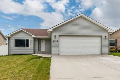 Billings Heights Single Family Home Contingency: 1334 Cortez Ave