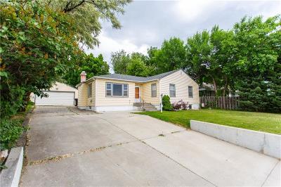 Billings Single Family Home For Sale: 1333 Rimrock Road