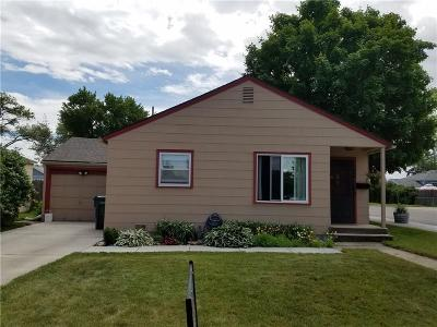Billings Single Family Home For Sale: 1648 Lewis Avenue