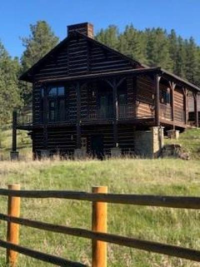 Single Family Home For Sale: Willow Creek Lane - Snowy Mountains