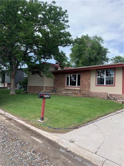 Billings MT Single Family Home For Sale: $237,900