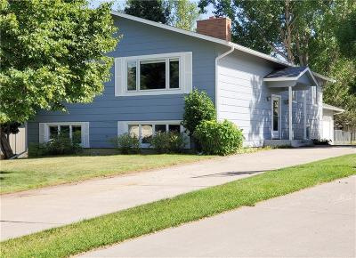 Yellowstone County Single Family Home Contingency: 24 Gold Pan Lane