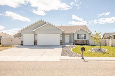 Yellowstone County Single Family Home Contingency: 846 Siesta Avenue
