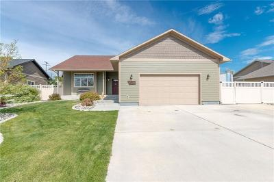 Billings Single Family Home Contingency: 2521 Spring Gulch Way