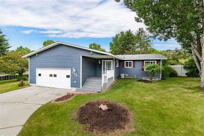Billings Single Family Home Contingency: 590 Indian Trail