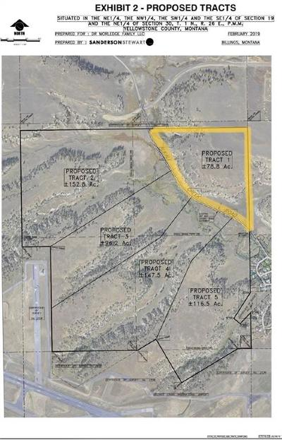 Billings Residential Lots & Land For Sale: Tbd Alkali Creek