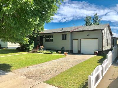 Billings Single Family Home For Sale: 1506 Cook Avenue