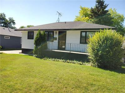 Billings MT Single Family Home For Sale: $179,900
