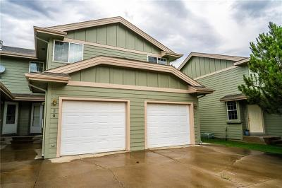 Billings Condo/Townhouse For Sale: 3955 Olympic Blvd #28