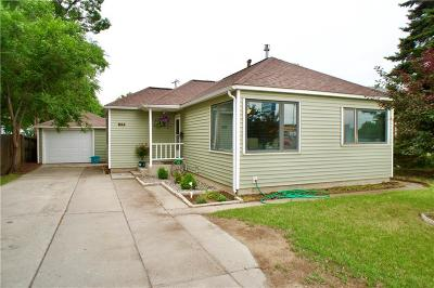 Billings MT Single Family Home For Sale: $177,500