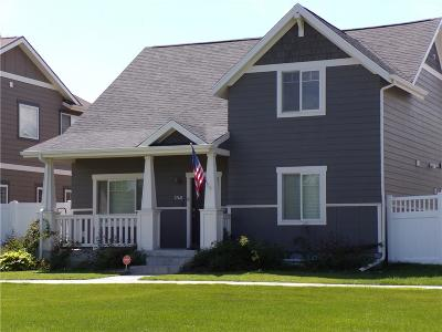 Yellowstone County Single Family Home For Sale: 1740 Front Street