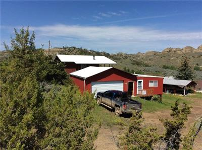 Single Family Home For Sale: Parcel 40 Hell Creek Recreation, Jordan, Montana