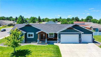 Yellowstone County Single Family Home Contingency: 868 Sapphire Avenue