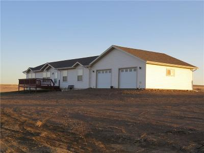 Single Family Home For Sale: 491-497 Mayberry Road, Circle, Montana